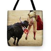 When The Bull Gores The Matador I Tote Bag
