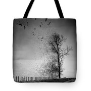 When The Darkness Gets Out Tote Bag