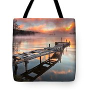 When The Fishermen Go Away Tote Bag