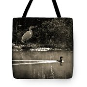 When The Morning Fog Lifted Tote Bag