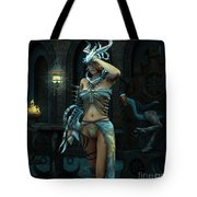 When The Night Begins Tote Bag
