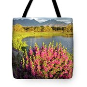 When The Rains Come In The Desert So Do The Blooms Tote Bag