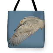 When The Snow Flies Tote Bag