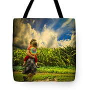 When The Sun Comes After Rain Tote Bag