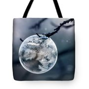 When The World Freezes Tote Bag