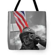 When They Fell They Stood Tote Bag