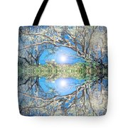 When Trees Embrace Tote Bag