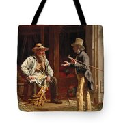 When We Were Boys Together Tote Bag