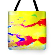 When We Were Swimming Together  Tote Bag