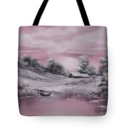 When Winter Comes Early Sold Tote Bag by Cynthia Adams