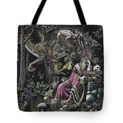 When Wizards Dream Tote Bag