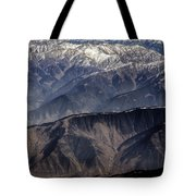 When You Climb Up A High Mountain, You'll See A Myriad Of Mountain Which You Need To Climb Again Tote Bag
