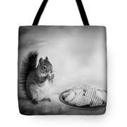 When You Lose Your Nuts There Is Always Chips Tote Bag