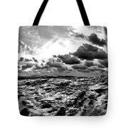 When You Need The Ocean, She Comes Rushing... Tote Bag