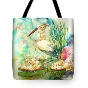 Where Babies Come From Tote Bag