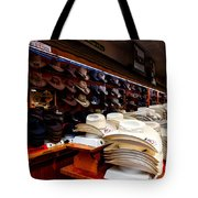 Where Cowboys Shop Tote Bag