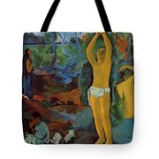Where Do We Come From What Are We Where Are We Going 1897 Tote Bag