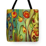 Where Does Your Garden Grow Tote Bag by Jennifer Lommers