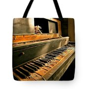 Where Fingers Once Danced Tote Bag