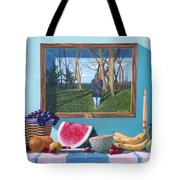 Where Fruit Of Life Lies Within Tote Bag
