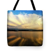 Where Heaven Meets The Earth  Tote Bag