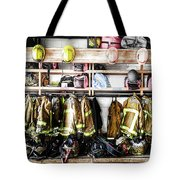 Where Heroes Hang Their Capes Tote Bag