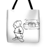 Where I Am... Tote Bag