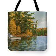 Where Life Is Easy Tote Bag