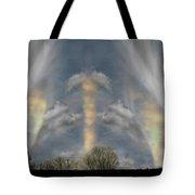 Where Spirits Dwell Tote Bag by Wayne King