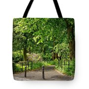 Where The Alley Starts. Tote Bag