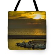 Where The Boats Are Sleeping Tote Bag