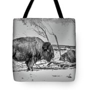 Where The Buffalo Rest Tote Bag