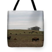 Where The Buffalo Roam 2 Tote Bag