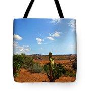 Where The Cactus Grow Tote Bag