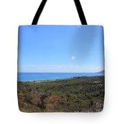 Where The Desert Kisses The Sea Tote Bag