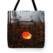 Where The Engineer Sits Tote Bag