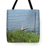 Where The Fence Ends Tote Bag