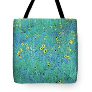 Where The Flowers Bloom Tote Bag