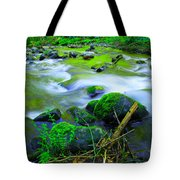 Where The Golden Waters Flow Tote Bag