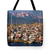 Where The Land Ends ... Tote Bag