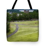 Where The Paths Cross Cornell University Ithaca New York Tote Bag