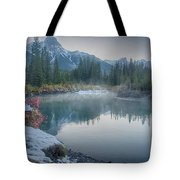 Where The River Bends Tote Bag