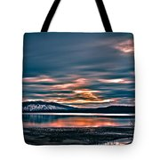Where The River Ends Tote Bag