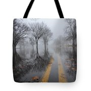 Where The Road Leads Tote Bag