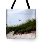 Where The Sea Wind Blows Tote Bag