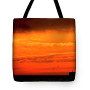 Where The Sky Meets The Sea Tote Bag
