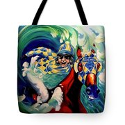 Where The Turf Meets The Surf Tote Bag