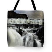 Where The Water Falls Tote Bag