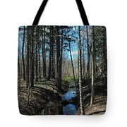 Where The White Tail Deer Run Tote Bag