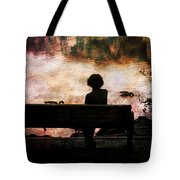 Where We Used To Sit 1 Tote Bag